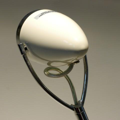 Tischlampe Vespa Vintage weiss