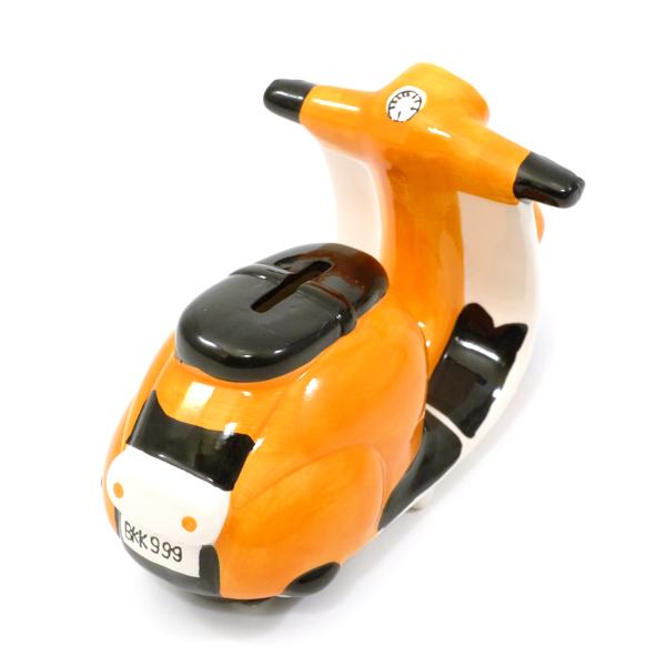 Modell Vespa Sparkasse orange