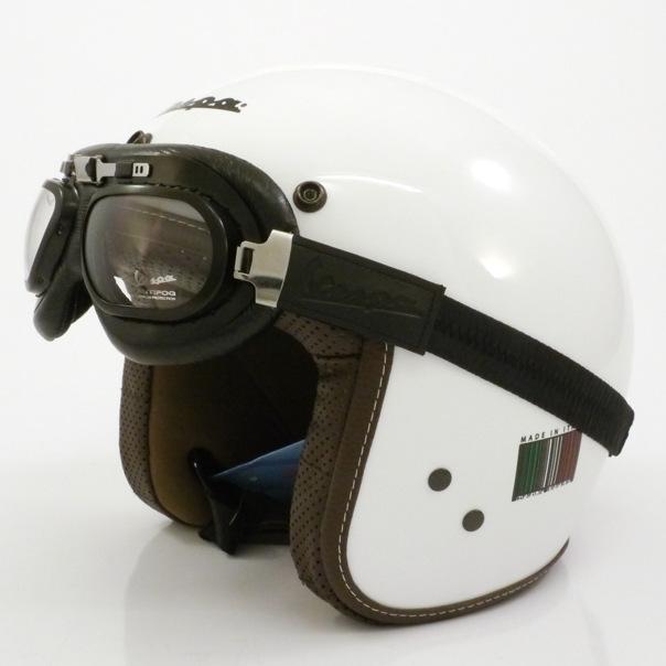 "Helmbrille ""Vespa"" für PX Jet Helme"