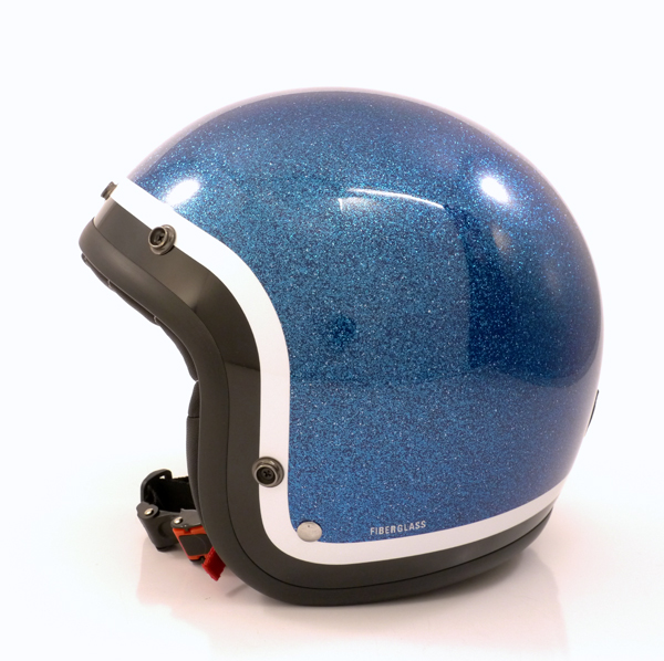 Helm Project for Safety glitter blau