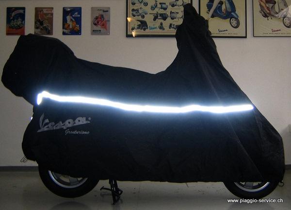 Faltgarage Vespa Gran Turismo, GTS. Original Vespa Cover XL. Abdeckung Vespa.